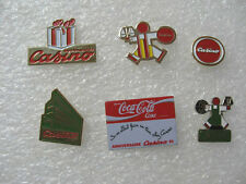 LOT 6 PIN'S CASINO / THÈME MAGASIN GRANDE DISTRIBUTION SUPERMARCHÉ  PINS PIN P18