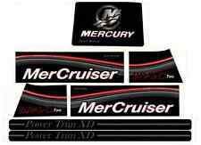MERCRUISER BRAVO TWO DECAL SET WITH GRAY TRIMS