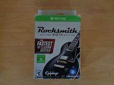Rocksmith 2014 Edition w/ Real Tone Cable (Microsoft Xbox One, 2014) - Brand NEW