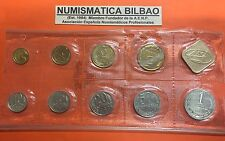 RUSSIA 1989 KMS Leningrad Mint 9 coins Brilliant Set USSR CCCP Rusland @HOLED@