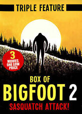 Box of Bigfoot 2: Sasquatch Attack! (DVD, 2014)