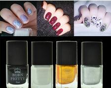 4Pcs/kit 6ml Born Pretty Nail Art Vernis de Stamping en 4 Couleurs