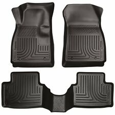 Husky WeatherBeater Liners Front/Rear 2011-2015 Ford Fiesta - Black