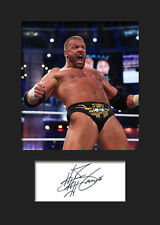 TRIPLE H #2 (WWE) Signed Photo A5 Mounted Print - FREE DELIVERY