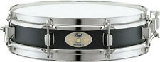 "Pearl S1330B 13"" x 3"" Piccolo Snare Drum Black Steel"