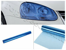 "1ft x 5ft Light Blue Tint Car Headlight Protector Film Vinyl Glossy 12"" x 60"""