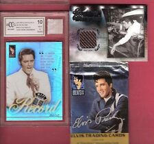 ELVIS PRESLEY EVENT WORN UNDERWEAR RELIC & GRADED 10 CARD WORN TWEED JACKET+PACK