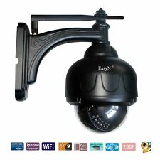 CCTV IR Outdoor PTZ Wifi Wireless Waterproof IP Security Camera LED Night Vision