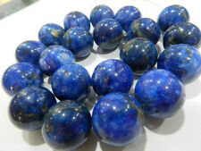 HUGE 18MM NATURAL GENUINE LAPIS LAZULI GEMS STONE ROUND LOOSE BEADS 15""