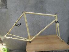 VINTAGE ANCIEN CADRE VELO RANDONNEUR ROAD TOURIST  BICYCLE FRAME 54cm 1950's