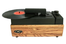 NITTY GRITTY MODEL MINI-PRO 2 OAK OR CHERRY LP RECORD CLEANER NEW WITH WARRANTY