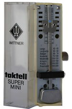 Wittner Taktell Super Mini - Ivory - Key Wound -   New - With Extended Warranty
