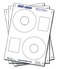 200 Zero Defex Gloss Offset CD / DVD Labels ZDL4002