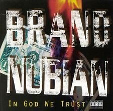 Brand Nubian: In God We Trust Explicit Lyrics Audio Cassette