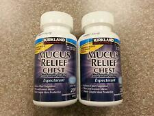 GUAIFENESIN 400 MG MUCUS RELIEF EXPECTORANT 400 TABLETS