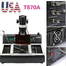 T870A Rework Station BGA IRDA Welder Infrared soldering machine Repair Tools UPS
