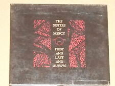 THE SISTERS OF MERCY -First And Last And Always- CD + 6 Bonustracks Digipak