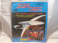 STAR TREK THE NEXT GENERATION STICKER ALBUM PRODUCED BY PANINI (german language)