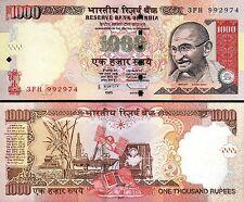 INDIA 1000 RUPEES 2011 UNC - R - P.107a MAHATMA GANDHI