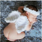 Newborn Baby Girl Boy Crochet Knit Costume Photo Photography Prop Angel Outfits