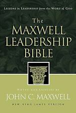 The Maxwell Leadership Bible: Lessons in Leadership from the Word of God  Books-