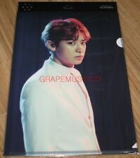 EXO EXOPLANET #3 THE EXO'rDIUM CONCERT GOODS CHANYEOL CLEAR FILE L-HOLDER NEW