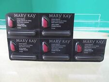 """Mary Kay Creme Lipstick Samples/Travel - 9 Count - """"Apple Berry"""" -  NEW!"""