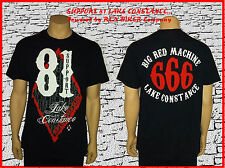 """LOSANGE 666"" support 81 Lake Constance shirt, taille L, red & white, big red Machine"