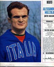 Alessandro Mazzola--Inter Mailand--Fussball--Zeitungsausschnitt von 1967