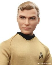 2016  Star Trek 50th Anniversary-Kirk  Barbie/ Ken Doll  In stock* #DGW69