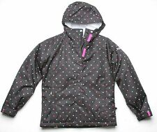Roxy Dots Girls Snowboard Jacket (10) Black