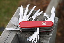 Victorinox Swiss Army Knife Champ Complete Set of Tools Camping Hiking Fishing