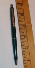 vintage paper mate Double Heart Ball Point Pen Green color