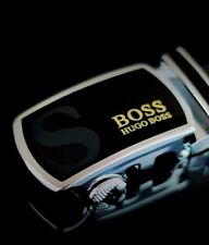 HUGO BOSS BELT WITH AUTOMATIC BUCKLE ( Condition used )