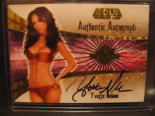 Yvette Nelson 2007 Bench Warmer Gold Edition Autograph Card #24/30