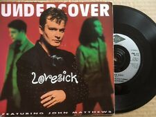 """UNDERCOVER 7"""" - LOVESICK (EDIT) / SHA DO - PWL 271 - PICTURE SLEEVE"""