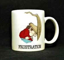 Frustration Coffee Mug by Gary Patterson 1984 Sports Collection VGUC