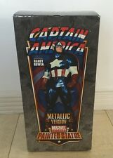 Randy Bowen Designs Captain America Metallic Avengers Full Size Statue MIB