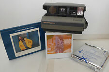 Polaroid Spectra System Instant Film Camera & User Manual & Film -TESTED