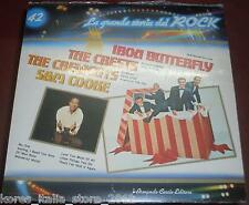 "IRON BUTTERFLY THE CRESTS CREWCUTS SAM COOKE ""La Grande Storia del ROCK (42)"" LP"