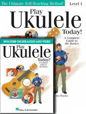 Play Ukulele Today Beginner's Level 1 Book with Online Audio and Video 000701872