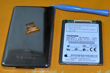 """free shipping 1.8"""" MK1634GAL(160GB)HDD FOR iPod Classic 7th Gen+Back Cover/tool"""
