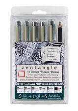 Sakura Pigma Micron Zentangle 11 piece Drawing Set 50011