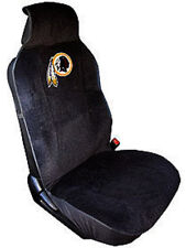 Washington Redskins Embroidered Seat Cover (New) Car Auto NFL Black Truck CDG