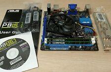 COMBO P8H61-I R2.0 MOTHERBOARD LGA 1155 + i3-2100 CPU + 8GB DDR3 + I/O Mini ITX