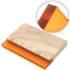 """6"""" Silk Screen Printing Squeegee Blade Wood Ink Scraper Scratch Board 16cm New"""