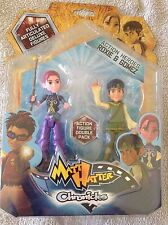 MATT HATTER CHRONICLES ACTION HEROES ROXIE & GOMEZ - ACTION FIGURE DOUBLE PACK