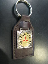 Key ring / sleutelhanger Mitsubishi (leather)