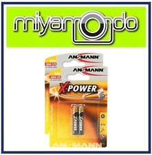 4 x Ansmann X-Power AAAA Battery For Headset Stylus Pen Health Device