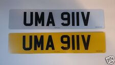 PORSCHE 911 REGISTRATION AND NUMBER PLATES READY FOR IMMEDIATE TRANSFER